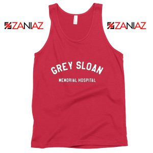 Grey Sloan Memorial Hospital Tank Top Greys Anatomy Tank Top Red