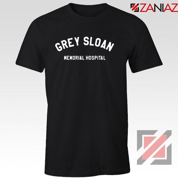 Grey Sloan Memorial Hospital Tee Shirt Greys Anatomy Best T-shirt Black