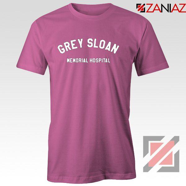 Grey Sloan Memorial Hospital Tee Shirt Greys Anatomy Best T-shirt Pink