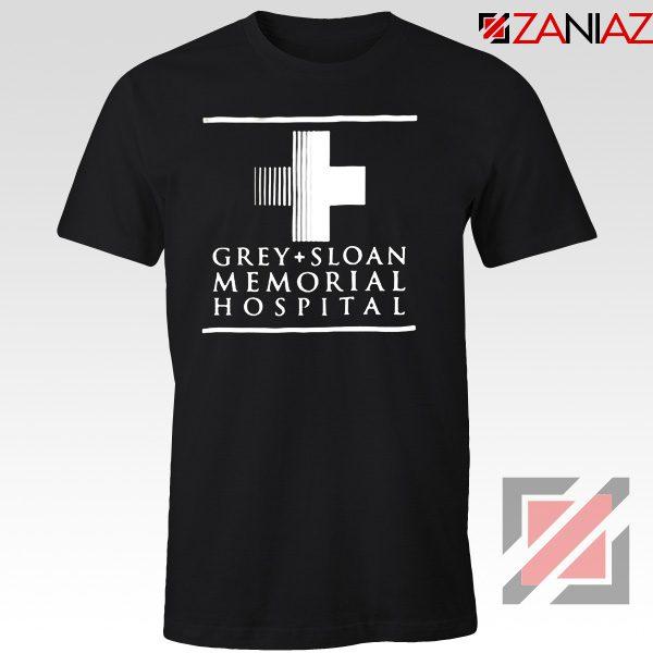 Grey Sloan Memorial Tee Shirt American Medical Television Series Black