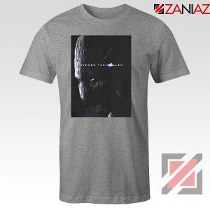 Groot Poster T-shirt Marvel Avengers Endgame Tshirt All Size Grey