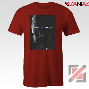 Groot Poster T-shirt Marvel Avengers Endgame Tshirt All Size Red