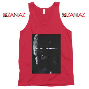 Groot Poster Tank Top Marvel Avengers Endgame Tank Top Size S-3XL Red