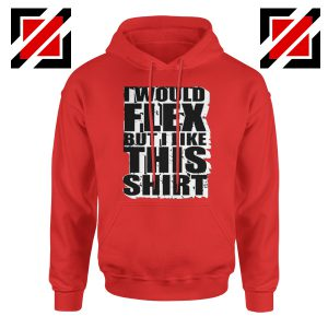 Hoodie Quotes Exercise Funny Gymnast Hoodie Cheap Size S-2XL Red