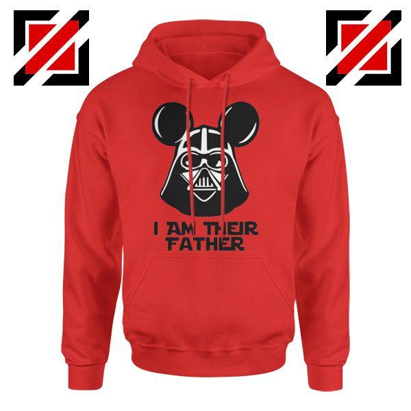 I Am Their Father Nice Hoodie Star Wars Disney Mickey Size S-2XL Red