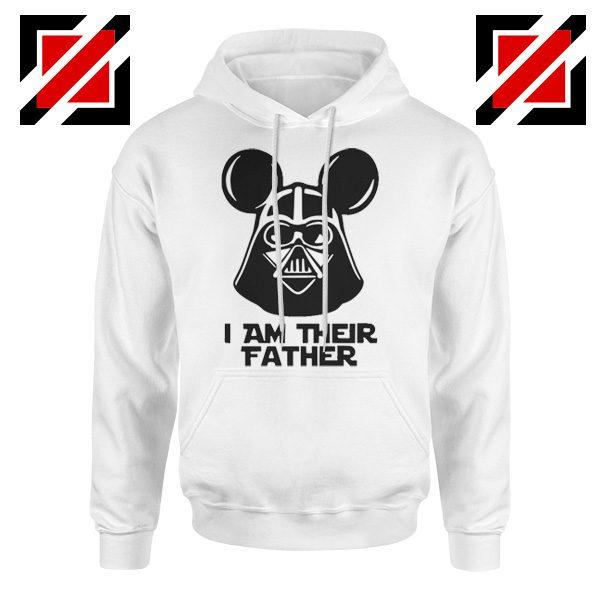 I Am Their Father Nice Hoodie Star Wars Disney Mickey Size S-2XL White