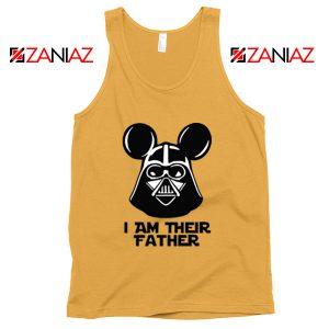 I Am Their Father Nice Tank Top Star Wars Disney Mickey Size S-3XL Sunshine