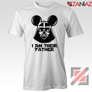 I Am Their Father Nice Tshirt Star Wars Disney Mickey Size S-3XL White