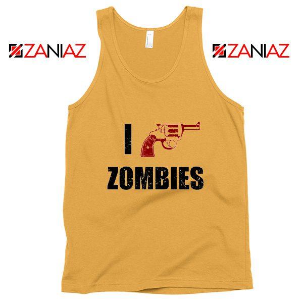 I Heart Zombies Tank Top The Walking Dead Tank Top Size S-3XL Sunshine