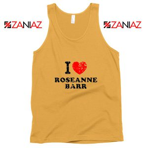 I Love Roseanne Barr Tank Top TV Sitcom Roseanne Tank Top Sunshine