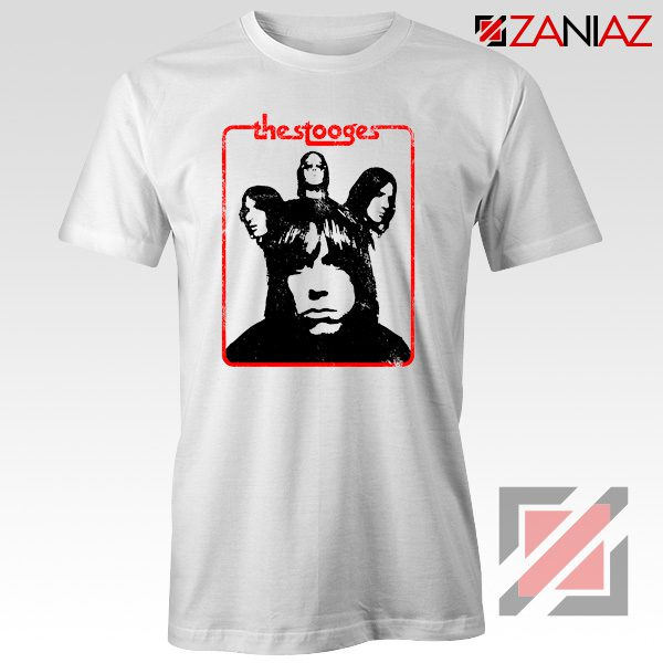 Iggy And The Stooges American Rock Band Best T-Shirt Size S-3XL White