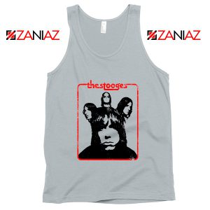 Iggy And The Stooges American Rock Band Best Tank Top Size S-3XL Silver
