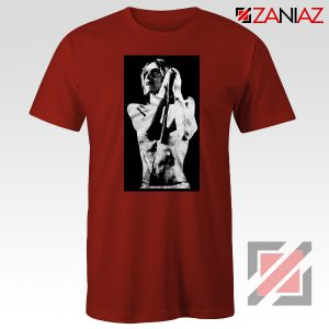 Iggy Pop Performance Music Concert Cheap Best Tee Shirt Size S-3XL Red