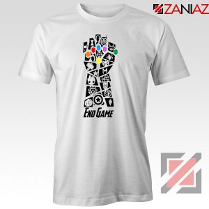 Infinity Gauntlet Marvel Comics Tshirts Avengers Endgame Tshirt White