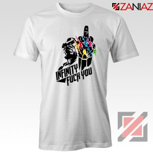 Infinity War Sucks T-shirt Parody Thanos Tee Shirts Size S-3XL White