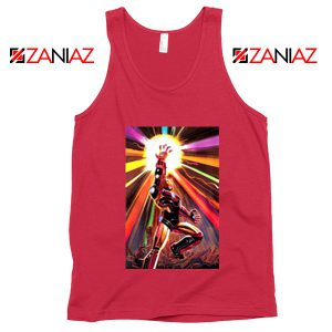 Iron Man Infinity Gauntlet Avengers Endgame Tank Top Size S-3XL Red