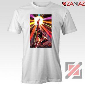 Iron Man Infinity Gauntlet T-shirts Avengers Endgame Tee Shirts White