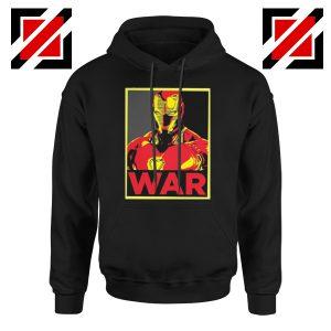 Iron Man War Hoodie Infinity War Cheap Hoodie Size S-2XL Black