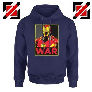 Iron Man War Hoodie Infinity War Cheap Hoodie Size S-2XL Navy Blue