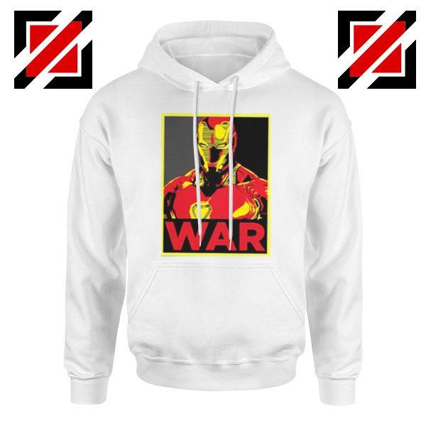 Iron Man War Hoodie Infinity War Cheap Hoodie Size S-2XL White