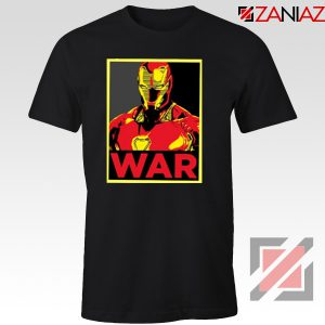 Iron Man War T-shirt Infinity War Cheap Tee Shirts Size S-3XL Black