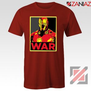 Iron Man War T-shirt Infinity War Cheap Tee Shirts Size S-3XL Red
