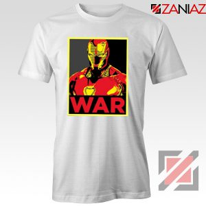 Iron Man War T-shirt Infinity War Cheap Tee Shirts Size S-3XL White
