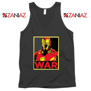Iron Man War Tank Top Infinity War Cheap Tank Top Size S-3XL Black