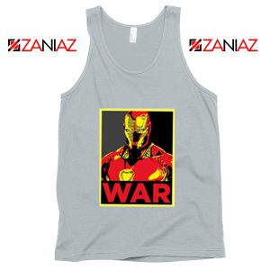 Iron Man War Tank Top Infinity War Cheap Tank Top Size S-3XL Silver