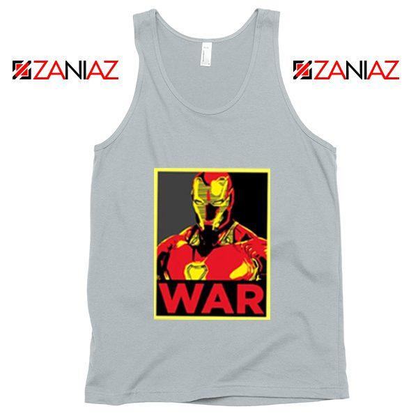 Iron Man War Tank Top Infinity War Cheap Tank Top Size S-3XL Silver