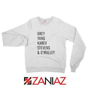Izzie Stevens Grey's Anatomy Squad Best Sweatshirt Size S-2XL White