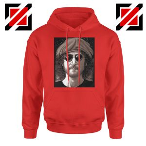 John Lennon Imagine Hoodie The Beatles Band Music Hoodie Size S-2XL Red