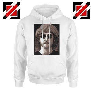 John Lennon Imagine Hoodie The Beatles Band Music Hoodie Size S-2XL White