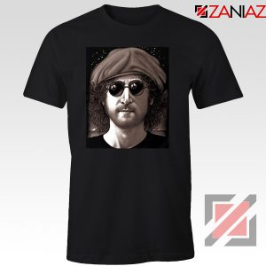 John Lennon Imagine T-Shirt The Beatles Band Music T-Shirt Size S-3XL Black