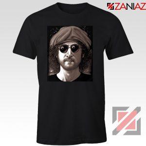 John Lennon Imagine T-Shirt The Beatles Band Music T-Shirt Size S-3XL Black