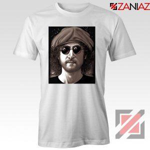 John Lennon Imagine T-Shirt The Beatles Band Music T-Shirt Size S-3XL White