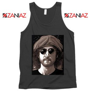 John Lennon Imagine Tank Top The Beatles Band Music Tank Top Black