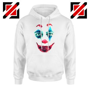 Joker 2019 Movie Hoodie Joaquin Phoenix Joker Hoodie Size S-2XL White