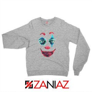 Joker 2019 Movie Sweatshirt Joaquin Phoenix Joker Sweatshirt Grey