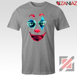 Joker 2019 Movie T-Shirts Joaquin Phoenix Joker Best T-Shirt Size S-3XL Grey