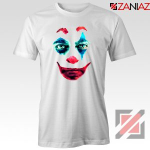Joker 2019 Movie T-Shirts Joaquin Phoenix Joker Best T-Shirt Size S-3XL White