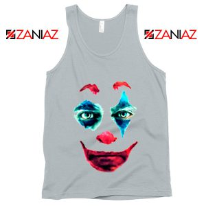 Joker 2019 Movie Tank Top Joaquin Phoenix Joker Tank Top Size S-3XL Silver