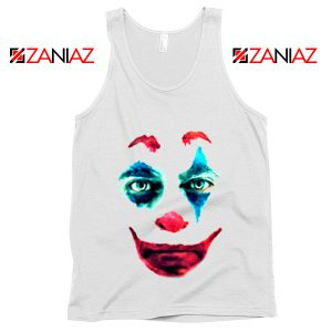 Joker 2019 Movie Tank Top Joaquin Phoenix Joker Tank Top Size S-3XL White