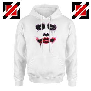 Joker Face Hoodie Joker Film Best Hoodie Size S-2XL White