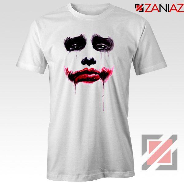 Joker Face T Shirt Joker Film Best Tee Shirts Size S-3XL White