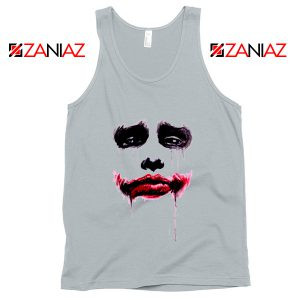 Joker Face Tank Tops Joker Film Best Tank Top Size S-3XL Silver