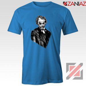 Joker Movie Posters T-shirts Joker Movie 2019 Tee Shirt Size S-3XL Blue