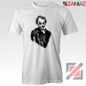 Joker Movie Posters T-shirts Joker Movie 2019 Tee Shirt Size S-3XL White