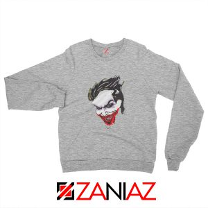 Joker Poster Film Sweatshirt Joker Movie 2019 Sweatshirt Size S-2XL Grey