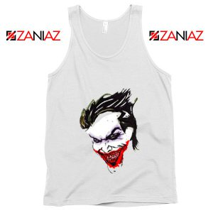 Joker Poster Film Tank Top Joker Movie 2019 Tank Top Size S-3XL White